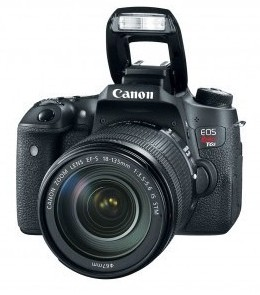 Camara Canon T6i 18-55is Stm 24.2 Mpx Lcd 3 Full Hd Wifi
