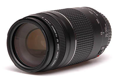 Lente Canon Ef 75-300mm F/4-5.6 Lii Zoom P/ T3i T2i 40d