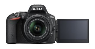 Camara Digital Nikon D5500 Kit 18-55mm Vr 24,2 Mp Full Hd - La Mejor Solución