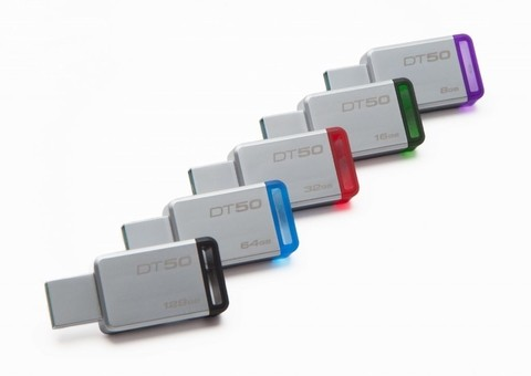 Pendrive Kingston 64gb Dt 50 Usb 3.1 / 3.0 / 2.0 Original
