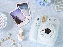Camara Fuji Instax Mini 9 Flash Selfie Polaroid + 60 Fotos