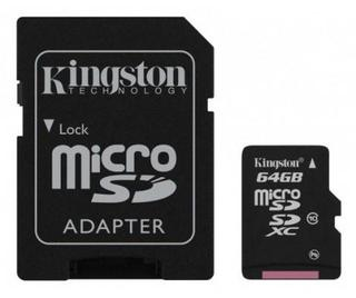 Memoria Micro Sd 64gb Clase10 Kingston Sdxc - comprar online