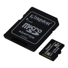 Memoria Kingston Micro Sd 16gb Canvas Select Plus 100mbs A1 - comprar online