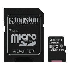 Memoria Micro SDXC 128gb Kingston Clase 10 Canvas Select - comprar online