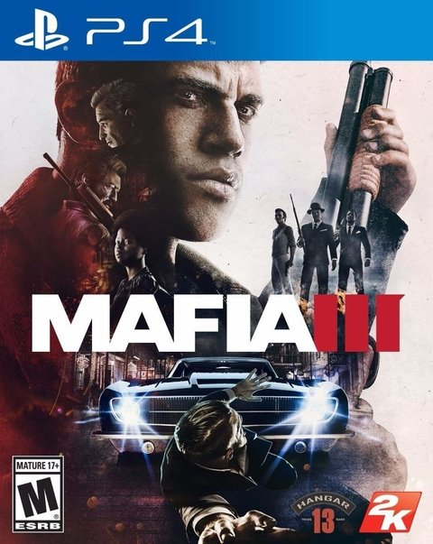 Mafia 3 Ps4 Cd Original Fisico En Stock Nuevos