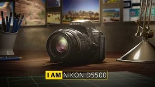 Camara Digital Nikon D5500 Kit 18-55mm Vr 24,2 Mp Full Hd - tienda online