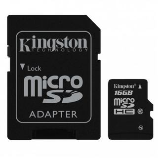 Memoria Micro SdHC 16gb Kingston Clase 10