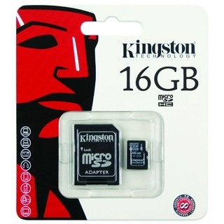 Memoria Micro Sd Hc 16gb Kingston Clase 4