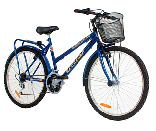 Bicicleta Halley 19149 Mountain Bike de Lujo Paseo