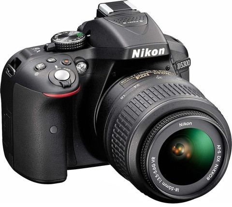 Camara Digital Nikon Reflex D5300 18-55 Mm 24.2 Full Hd