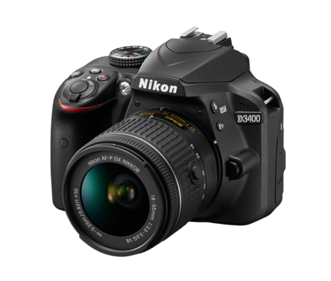 Camara Nikon D3400 Kit 18-55 24mp Reflex Full Hd Bluetooth