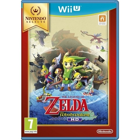 Zelda The Wind Waker Hd Fisico Sellado Nintendo Wii U
