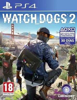 Watch Dogs 2 Ps4 Cd Fisico Sellado