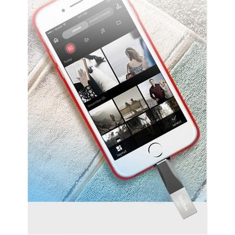 Pendrive Sandisk Ixpand P/ Iphone Lightning 32gb Usb 3.0 en internet
