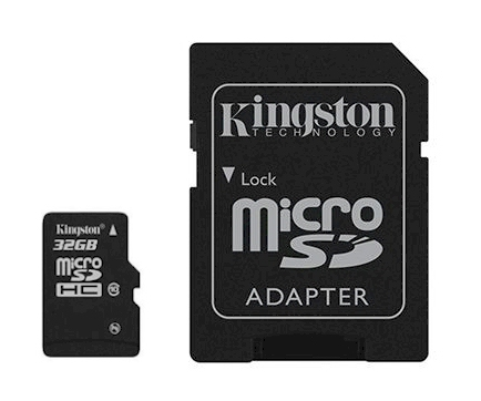 Memoria Kingston Micro SdHc 32gb Clase 10