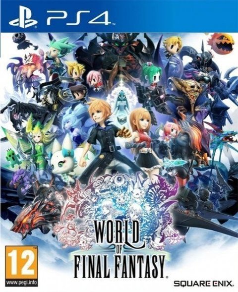 World Of Final Fantasy Ps4 Fisico Sellado Original
