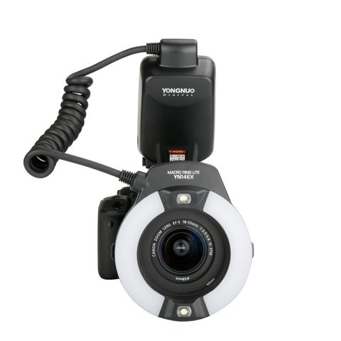 Flash Yongnuo Yn14ex Canon Macro Anillo Ttl Led Lcd en internet