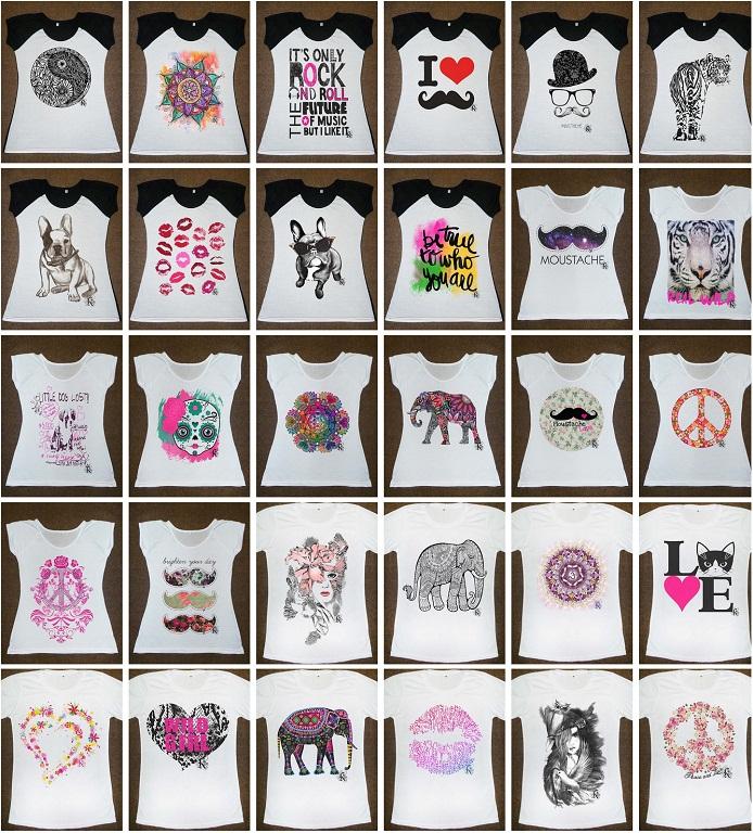 remeras sublimadas mujer dama mujeres damas estampas diseños para sublimar abfed55df2e39