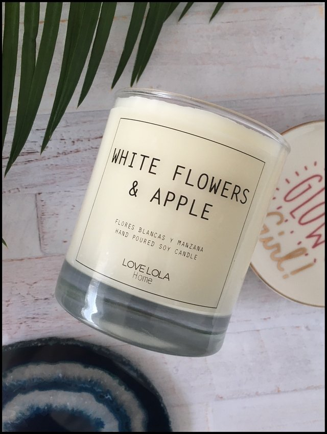 VELA WHITE FLOWERS & APPLE