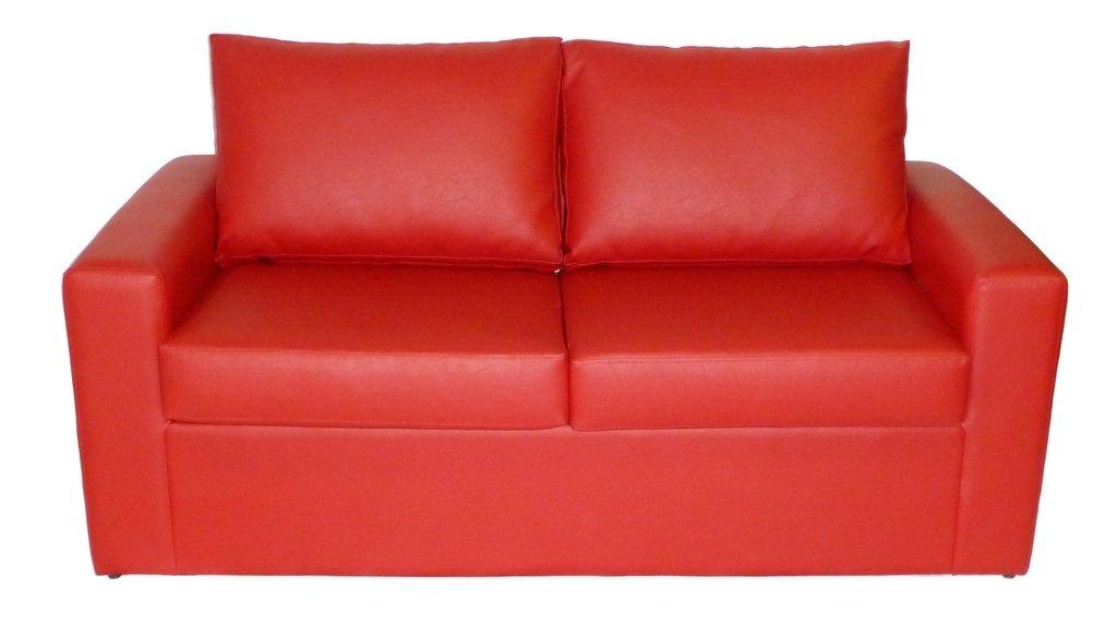Sof cama oasis de 3 cuerpos tapizado en tela chenille for Donde comprar sillones sofa cama