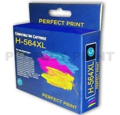 Combo Cartucho Alternativo Hp 564 Xl Negro Color B210a X 4 - Perfect Print