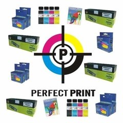Cartucho Alternativo Lexmark 16 17 Negro Doble Carga - Perfect Print