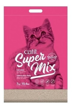 Arena Aglomerante Sanitaria Cat It Super Mix X 3.5 Kg