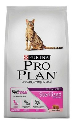 Alimento Pro Plan Sterilized Gato Adulto Salmón/arroz 3kg