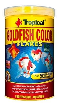 Alimento Para Peces  Tropical Goldfish Color X 50 Grs - comprar online