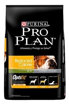 Alimento Pro Plan Reduced Calorie Perro Adulto Raza Mediana/grande Pollo/arroz 15kg