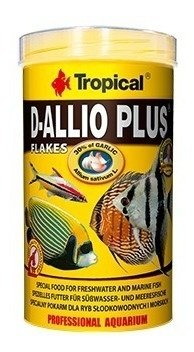 Alimento D-allio Plus Escamas X 20 Grs Tropical