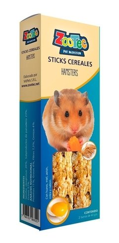 Golosina Stick Cereales Para Hamsters