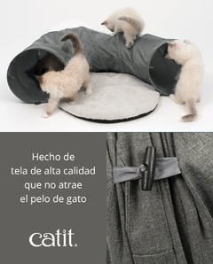 Tunel Para Gatos Cat It Vesper Gris - comprar online