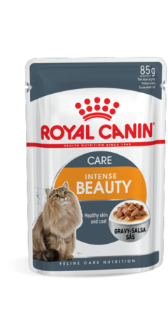 Pouch Royal Canin Intense Beauty In Gravy