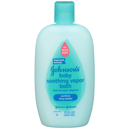 Johnsons Baby Soothing Vapor Bath 444ml