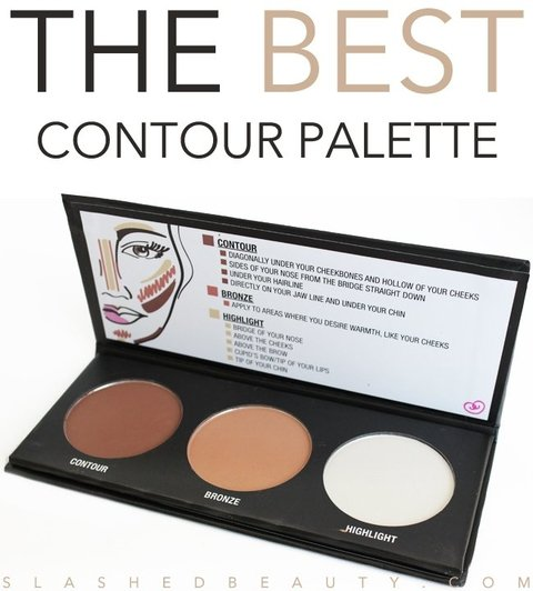 Paleta de Contorno - City Color 3 Cores Contour Effects - comprar online