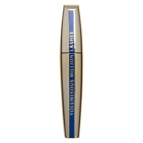 Loreal Mascara Voluminous Million Lashes Waterpoof/A Prova d'água 670 Black/Preto - comprar online