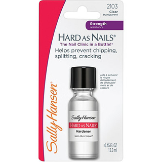 BASE FORTALECIMENTO SALLY HANSEN 2103 HARD AS NAILS 13,3ML