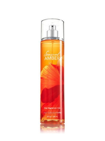 Body Splash - Bath and Body Works - SENSUAL AMBER - 236ml - comprar online