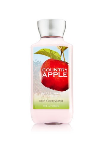Creme Corporal Bath & Body Works - COUNTRY APPLE - 236ml