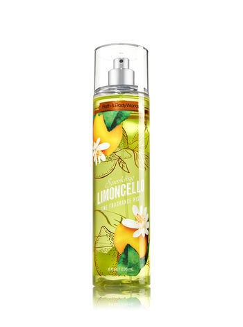 Body Splash - Bath and Body Works - SPARKLING LIMONCELLO - 236ml - comprar online