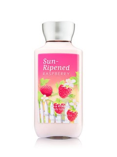 Creme Corporal Bath & Body Works - SUN-RIPENED RASPBERRY - 236ml - comprar online