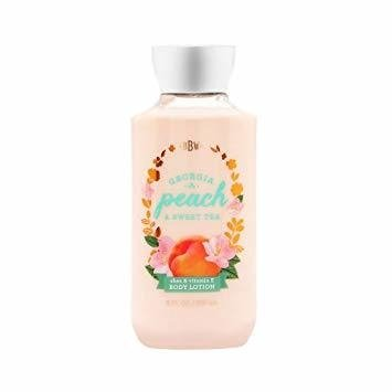 Creme Corporal Bath & Body Works - GEORGIA PEACH & SWEET TEA - 236ml