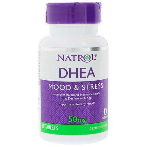 Natrol DHEA 50mg de 60 Tablets