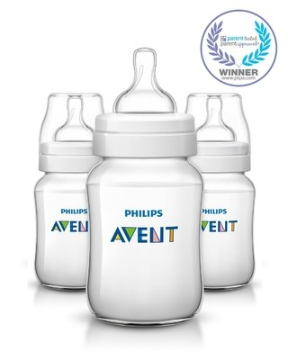Kit com 3 Mamadeiras Philips AVENT Anti-Colic