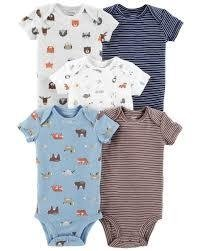 12m Kit 5 Bodys Carters tam. 12 meses
