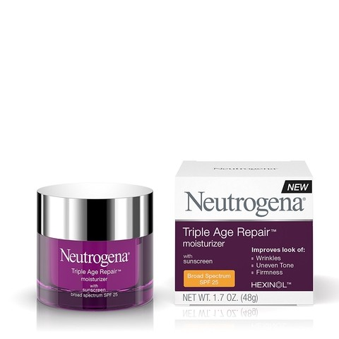 Neutrogena Triple Age Repair Creme 1.7 Ounce 48g Day SPF 25