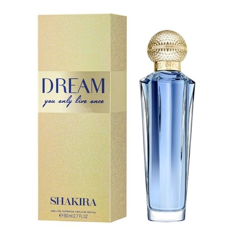 Dream Shakira Eau de Toilette - Perfume Feminino 80ml