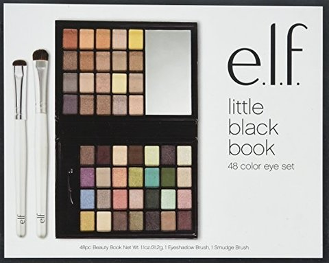 Paleta de sombras e.l.f. 48 Cores Little Black Beauty Book