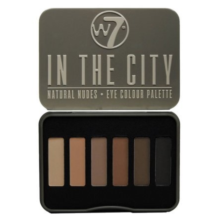 Paleta de Sombras 6 Cores - W7 In The City - Natural Nudes